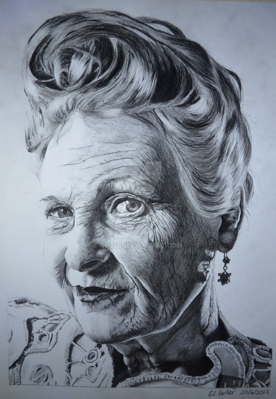 Drawn portrait tonal A4 on Bugs Pencil DeviantArt