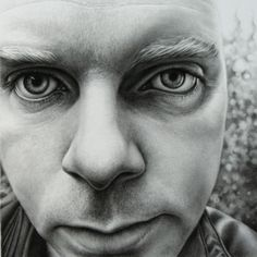 Drawn portrait tonal Co andrewtift of Self uk