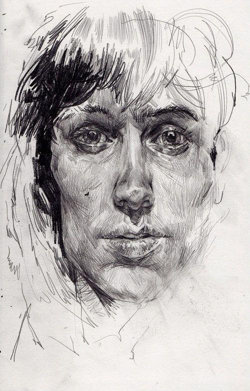 Drawn portrait tonal DRAWING best more Find Pinterest