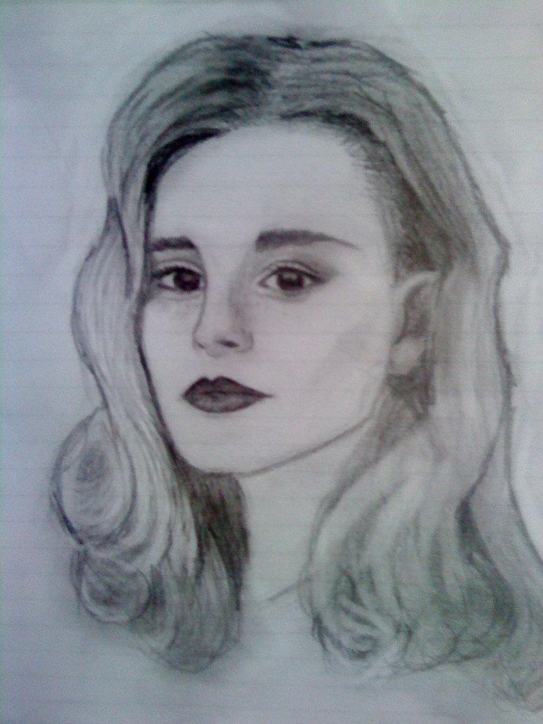 Drawn portrait traditional By drawn Alison stephaniakolovou portrait