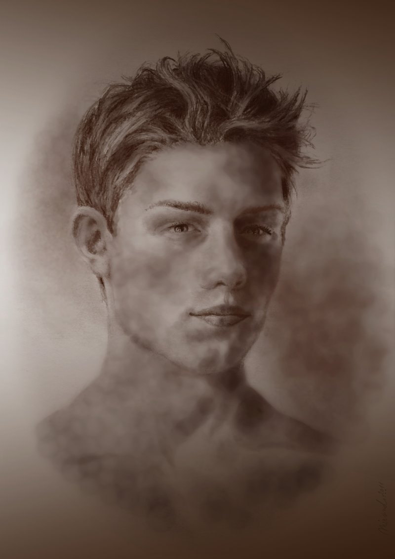 Drawn portrait traditional By by drawn drawn ajax4men