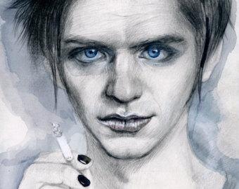 Drawn portrait unique Etsy Realistic drawing pencil portrait