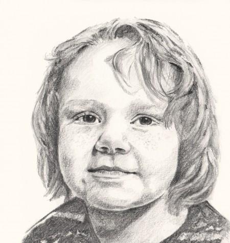 Drawn portrait unique Hushlandportraits portraits from journey adulthood