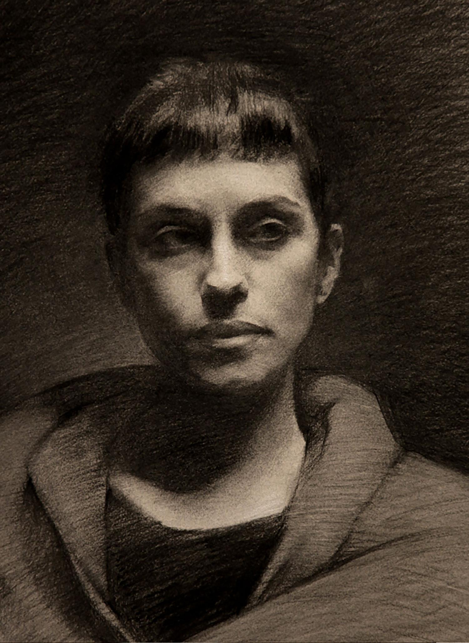 Drawn portrait unique LARA Portrait Portrait Drawing Drawing