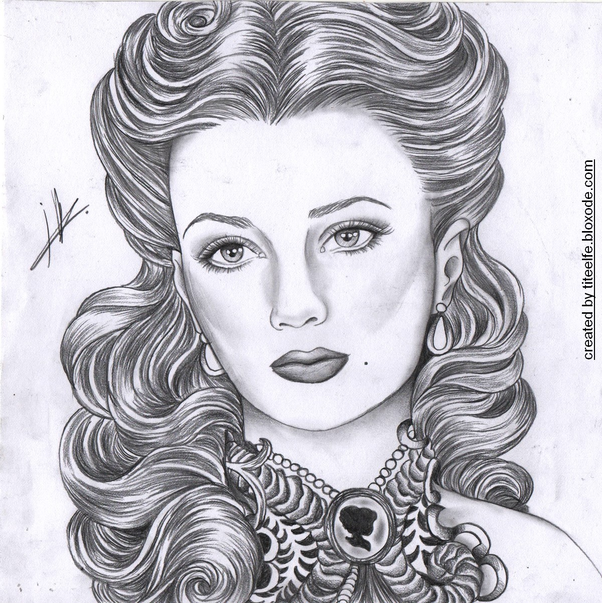 Drawn portrait victorian Bloxode drawings bloxode my All