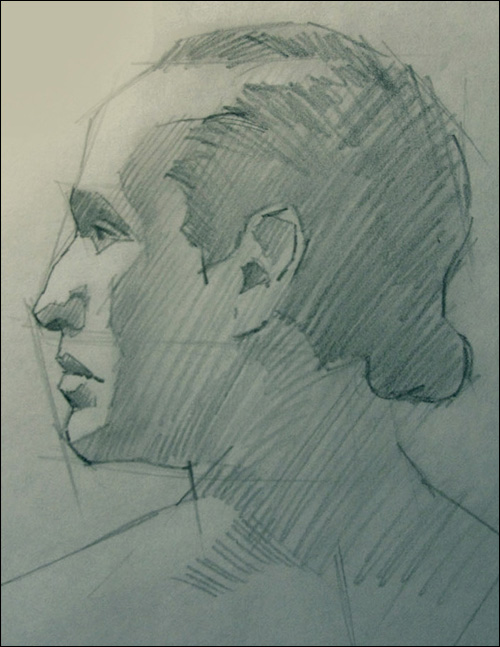 Drawn portrait volumetric To 4 Draw How portrait