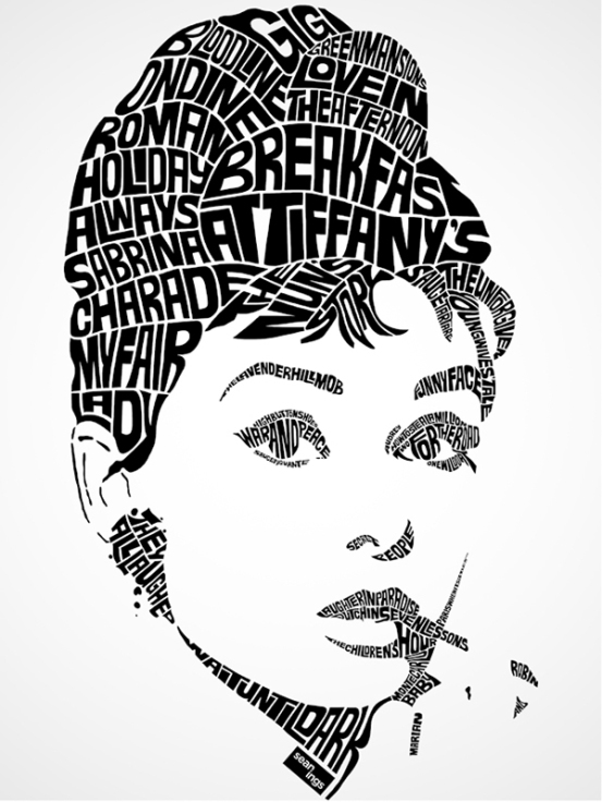 Drawn portrait word With Song by Created Williams