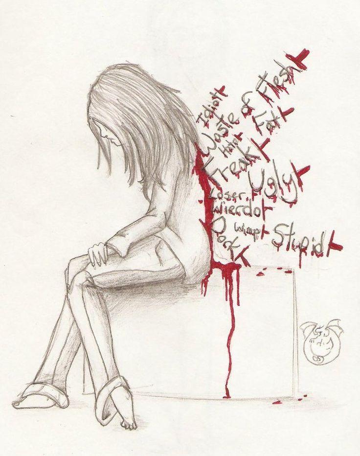 Drawn poster anti bullying On  Pinterest bullying Anti