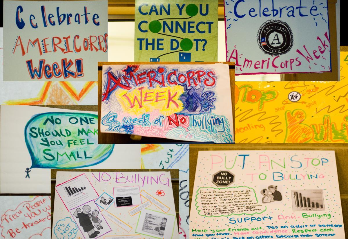 Drawn poster anti bullying Workplace teens Club  25