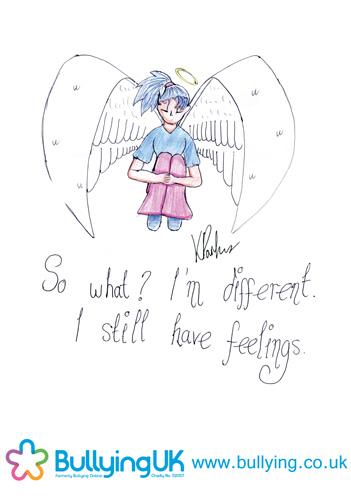 Drawn poster anti bullying Inspiration Bullying  UK bullyinguk