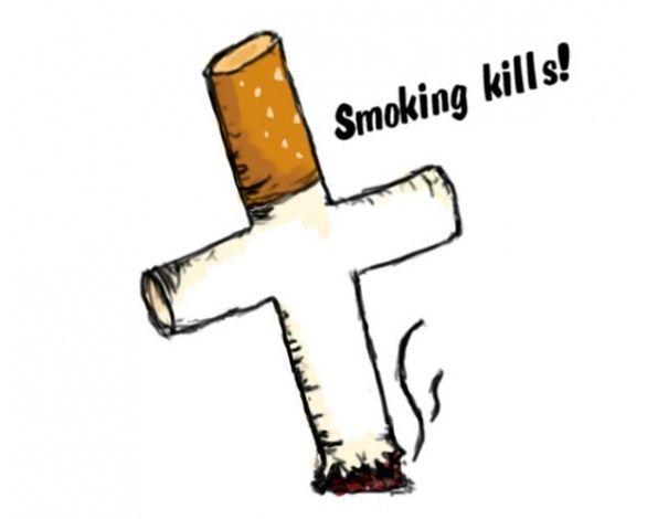 Drawn poster anti smoking The familiar This us Pinterest