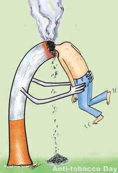 Drawn poster anti smoking Passive Uploaded Find Jun Smoking
