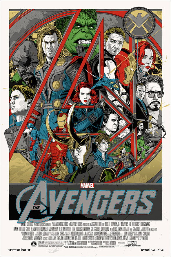 Drawn poster avenger To Pop  The Culture
