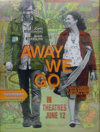 Drawn poster handwritten Squiggles the 'Away ¶ poster