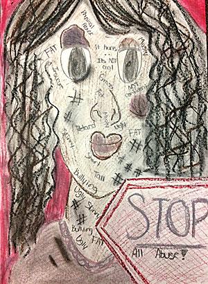 Drawn poster crime stopper 3 Aldine Crime Image Stoppers