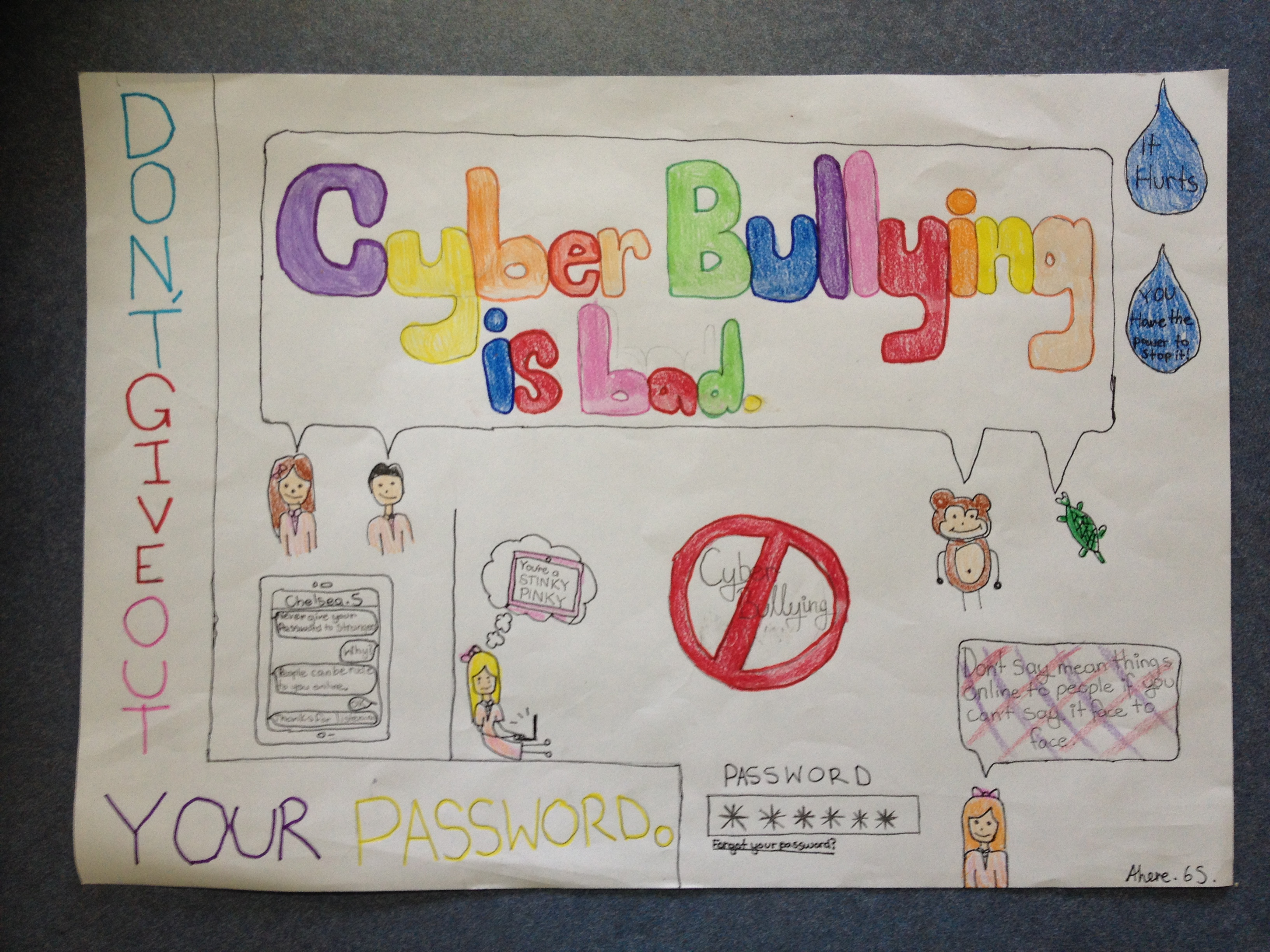 Drawn poster cyberbullying Archive » 5 Poster Bloggers