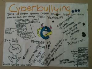 Drawn poster cyberbullying R We Palacio On Edge