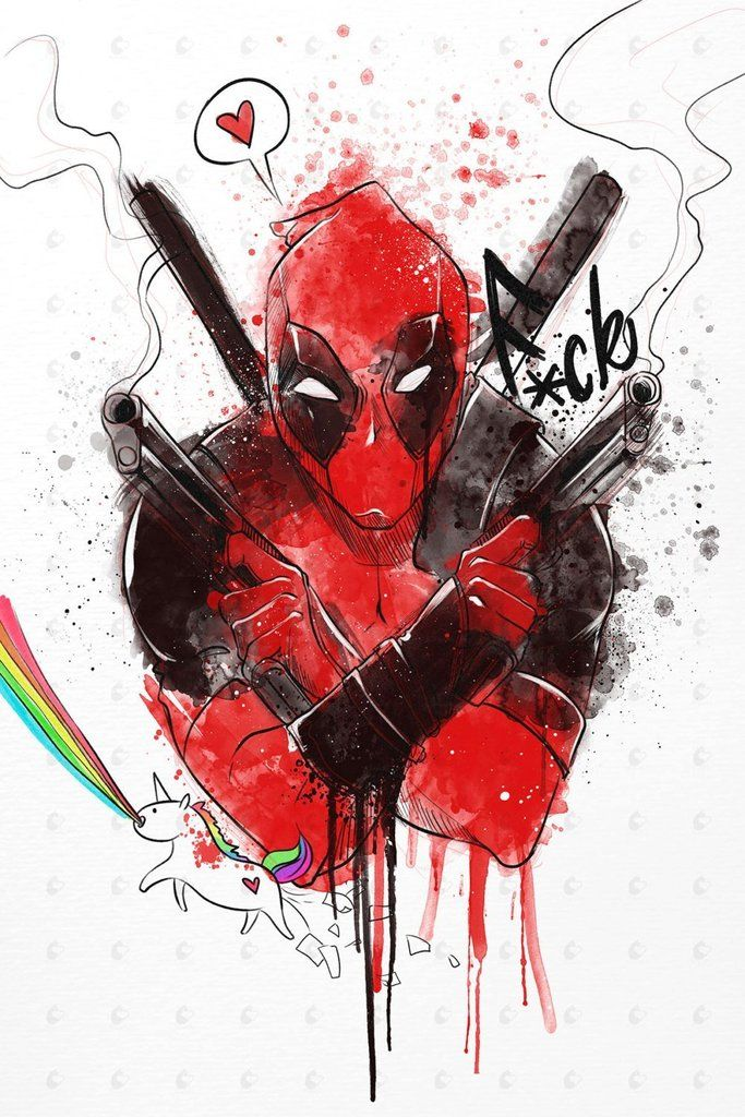 Drawn poster deadpool Pinterest movie on Poster Best