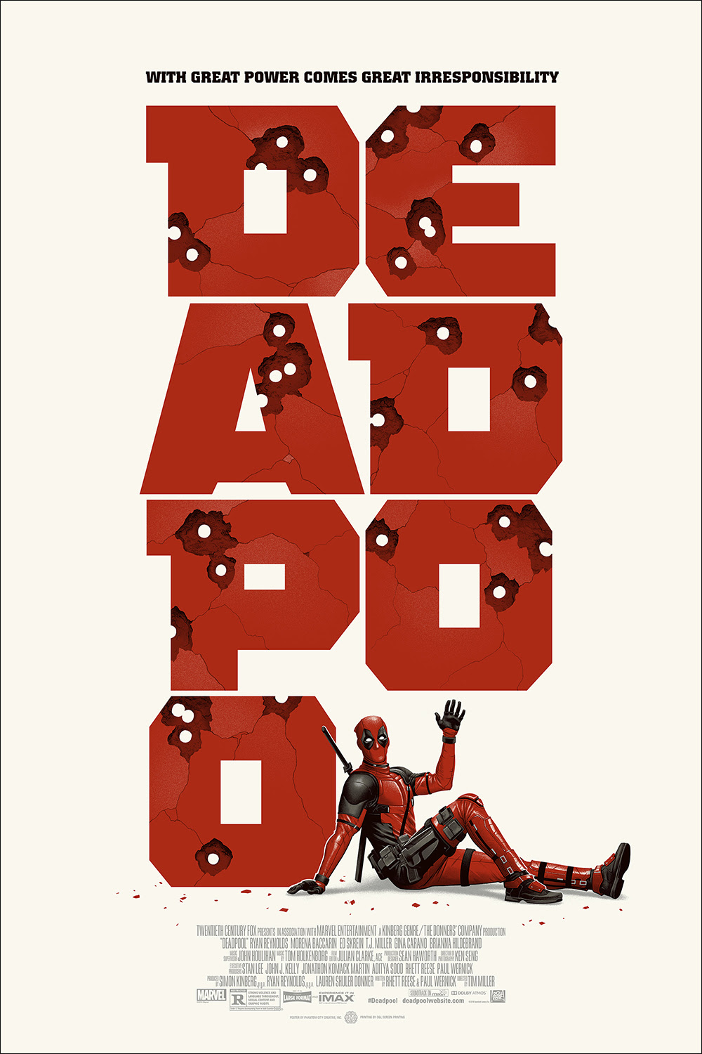 Drawn poster deadpool And by » Phantom Rob