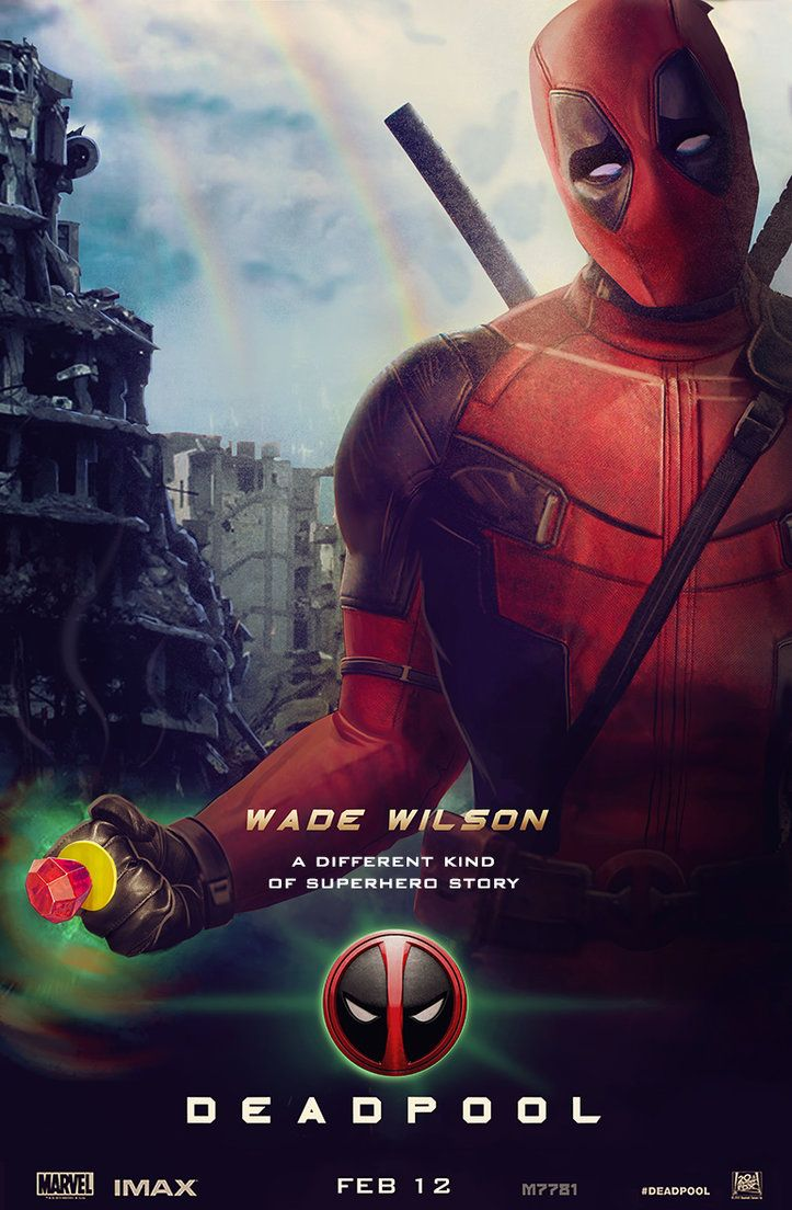Drawn poster deadpool Deadpool ideas DeviantArt poster filme