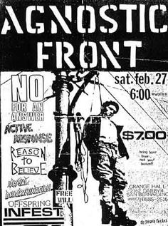 Drawn poster diy punk Rockin' flyers The for Punk