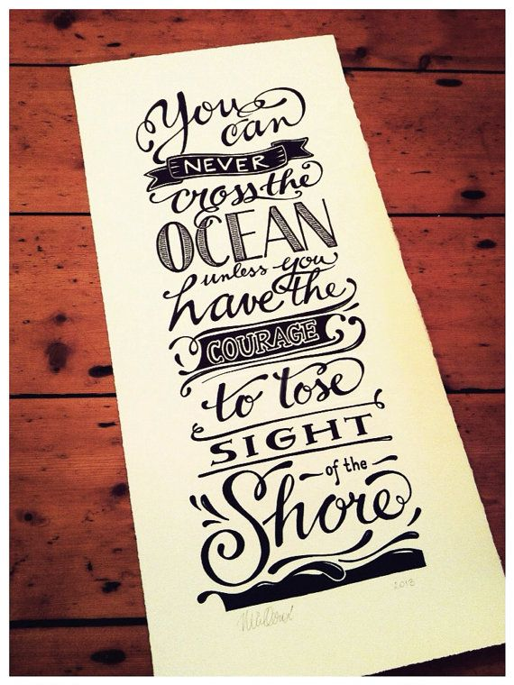 Drawn quoth typography Of original Made POSTERS quote