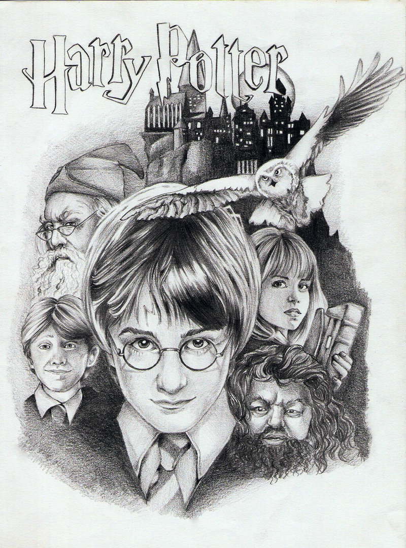 Drawn amd harry potter Potter Harry Potter Potter poster