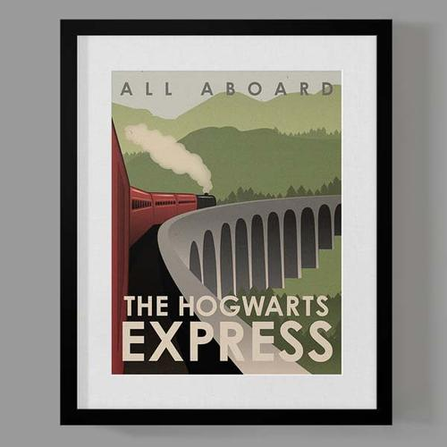 Drawn poster harry potter Harry Travel Set Travel Poster