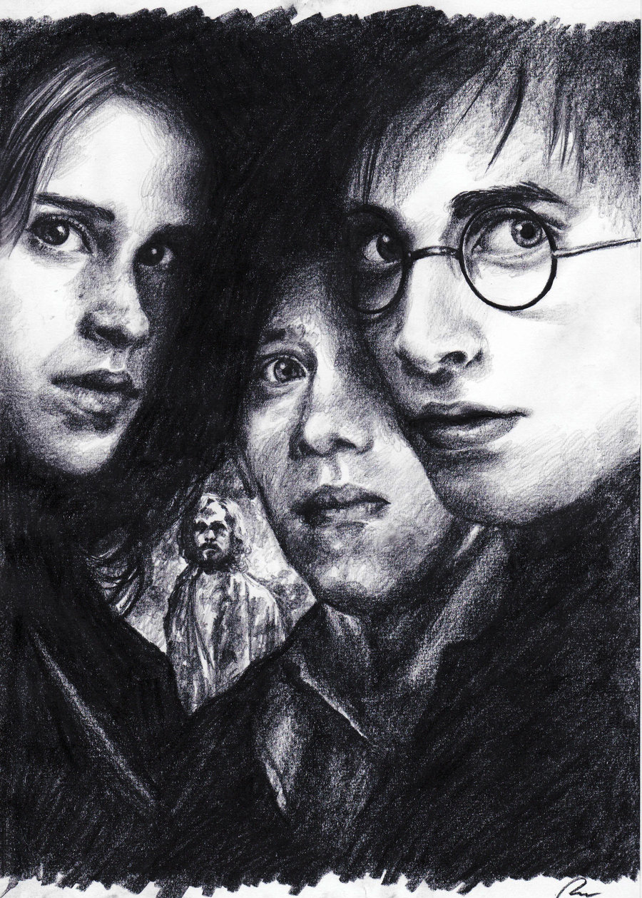 Drawn poster harry potter Harry poster Potter by matsuo1326