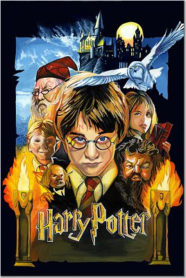 Drawn poster harry potter  Colour Poster Drawing effort