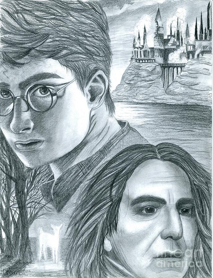 Drawn poster harry potter Harry Harry Crystal by Rosene