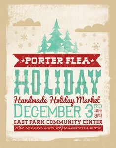 Drawn poster holiday craft fair Pta CRAFT POSTERS shopping christmas