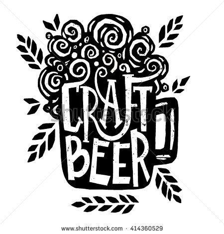 Drawn poster illustrative Drawn bar Best logo with