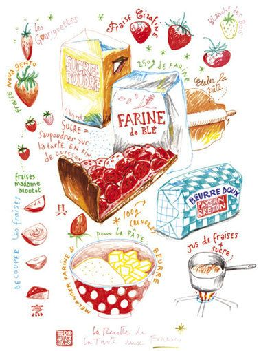 Drawn poster illustrative Best Cake decor 25+ Hostess
