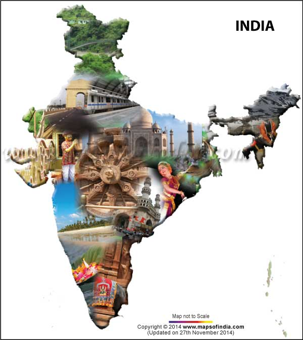 Drawn poster incredible india for kid Indian Culture all Culture about
