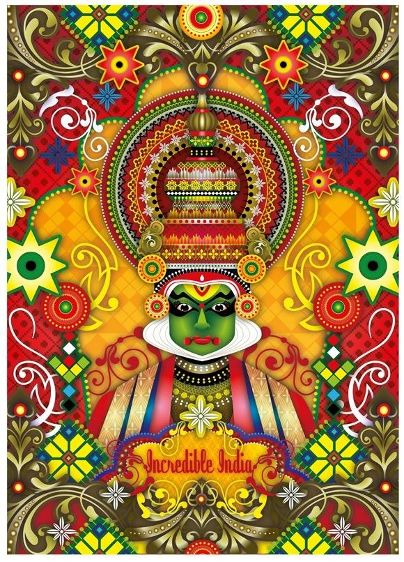 Drawn poster incredible india for kid Mlawwan 20120718 by Catalina Incredible