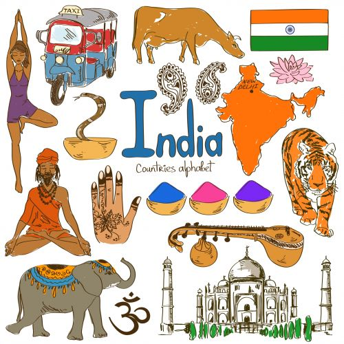 Drawn poster incredible india for kid 233 Poster download from countries