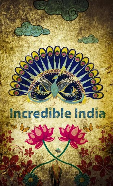 Drawn poster incredible india for kid In Holidaying or 3 2