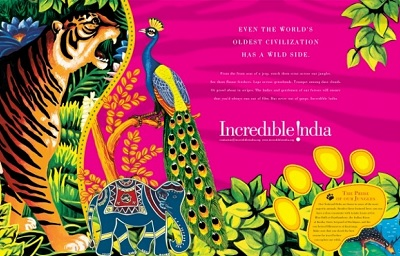Drawn poster incredible india for kid And Suthan Managing With Incredible