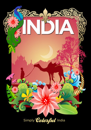 Drawn poster incredible india for kid India Google Search india India