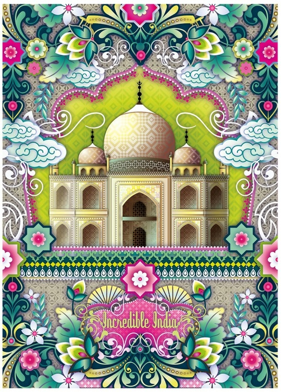 Drawn poster incredible india for kid Pinterest Incredible Art incredible World