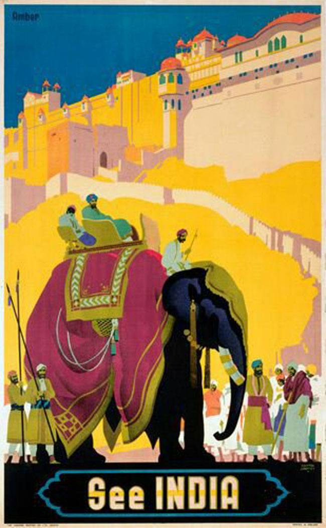 Drawn poster indian Poster Travel travel Search vintage