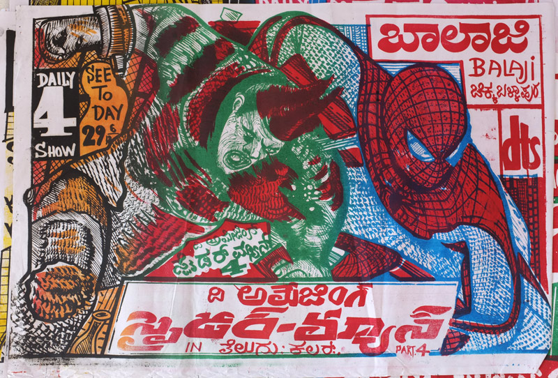 Drawn poster indian Drawn India Hand Posters AF