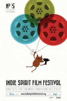 Drawn poster indie film Festival Film to  Indie