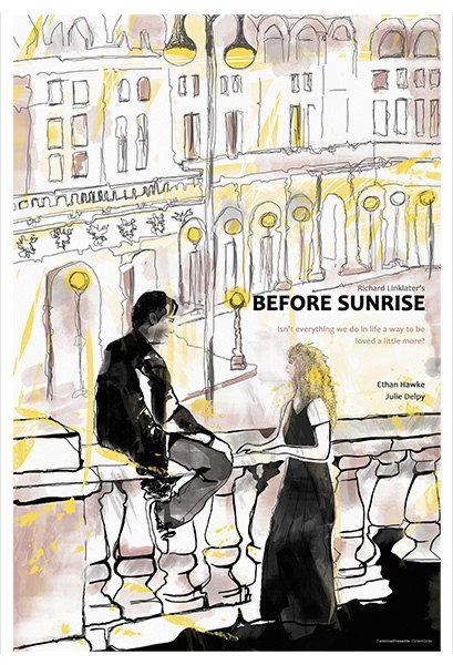 Drawn poster indie movie Alternative Before on 25+ Original