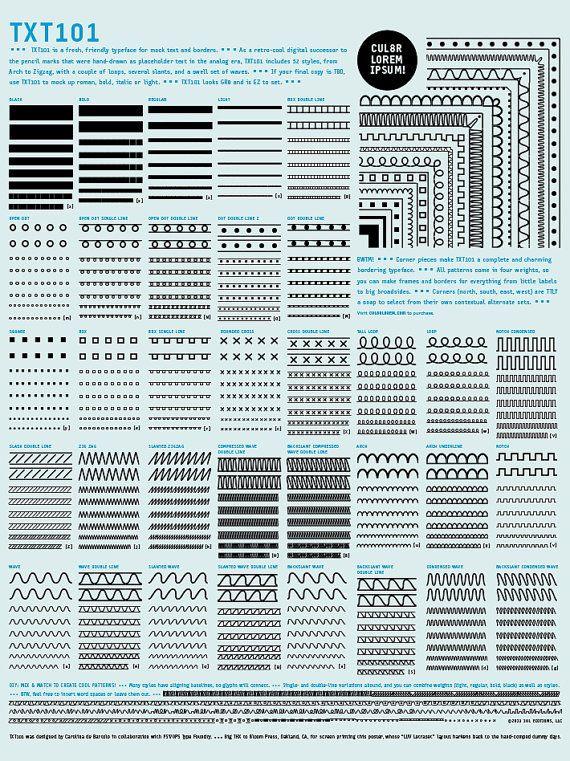Drawn poster letraset 11 on Letraset! best images