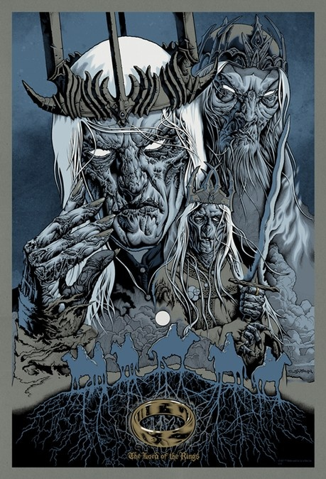 Drawn poster lord the ring Rings two newest Pinterest images