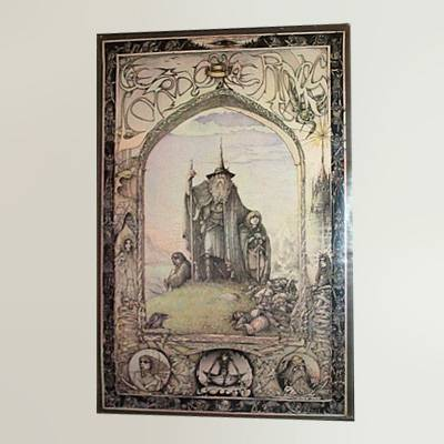 Drawn poster lord the ring The collectibles posters R Tolkien