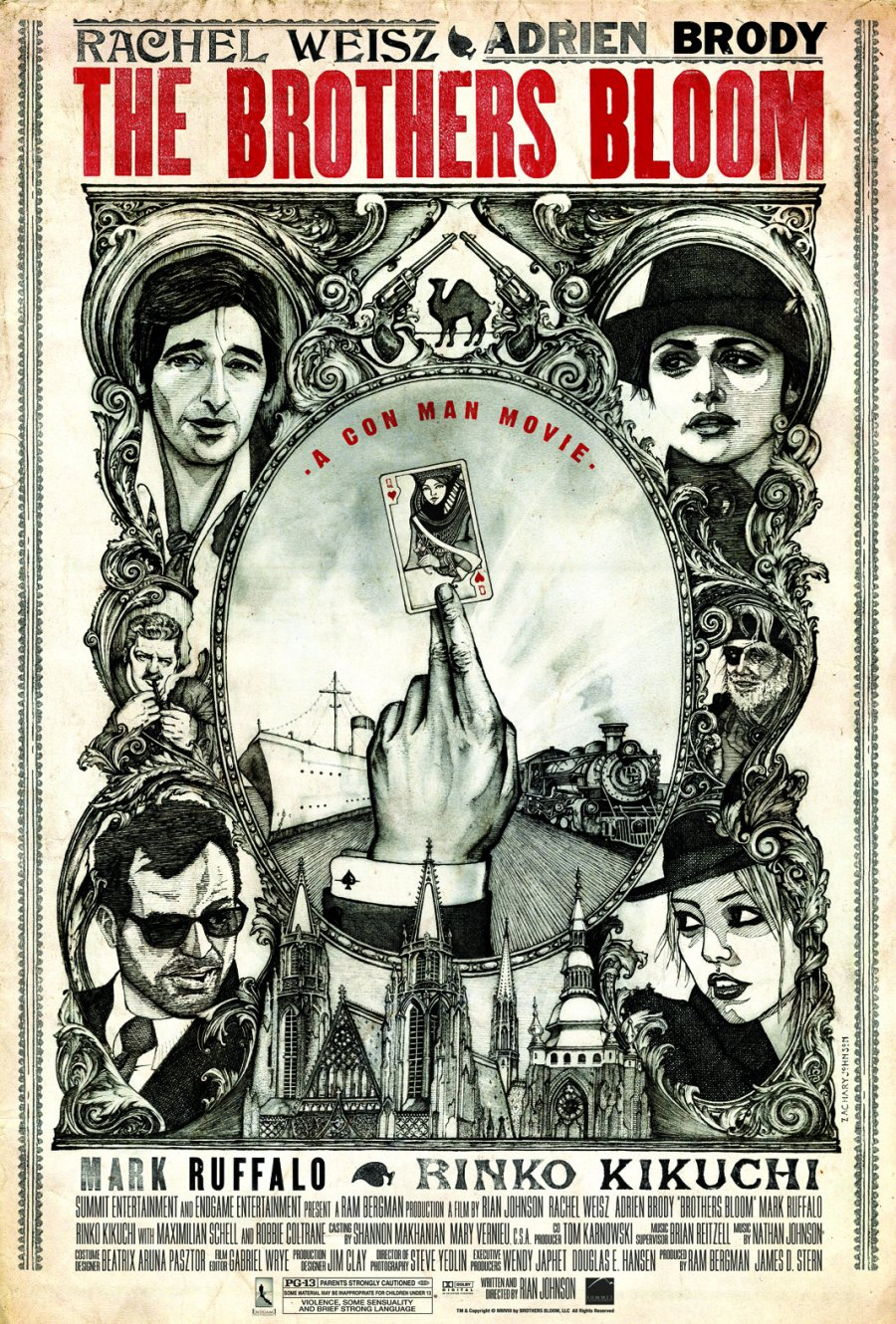 Drawn poster moie Posters MoviePosterAddict Bloom Brothers Ok