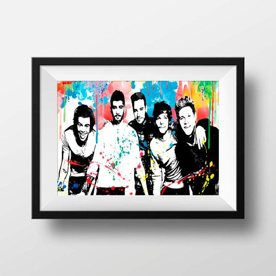Drawn poster one direction Print 1D poster 25+ ideas